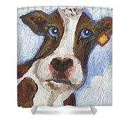 Cow Fantasy Two Shower Curtain