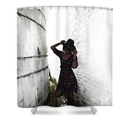 Cow Girl Take Me Away Shower Curtain