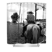 Cowboy 1 Shower Curtain