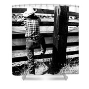 Cowboy 2 Shower Curtain