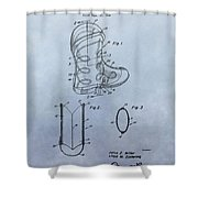 Cowboy Boot Patent Shower Curtain
