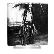 Cowboy, C1880 Shower Curtain