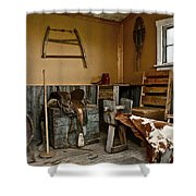 Cowboy Corner Shower Curtain