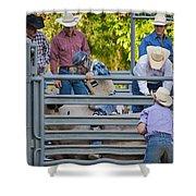 Cowboy Countdown Shower Curtain