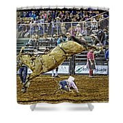 Cowboy Down Shower Curtain