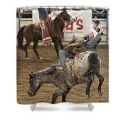 Cowboy Hang On Shower Curtain