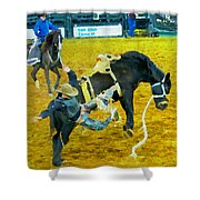 Cowboy Overboard Shower Curtain