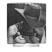 Cowboy Pilot Shower Curtain