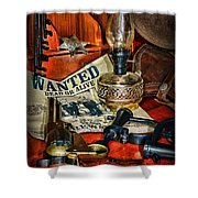 Cowboy - The Sheriff Shower Curtain