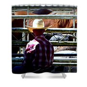 Cowboys Corral Shower Curtain