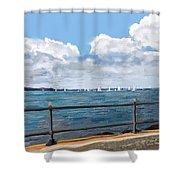 Cowes Regatta Shower Curtain