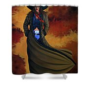 Cowgirl Dust Shower Curtain