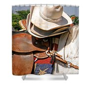 Cowgirl Hats Shower Curtain