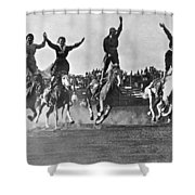 Cowgirls At The Rodeo Shower Curtain