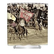 Cowtown Grand Entry Shower Curtain