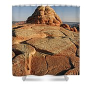 Coyote Buttes Rock Formation Shower Curtain