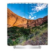 Coyote Gulch Sunset - Utah Shower Curtain