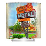 Cozy Cone Shower Curtain