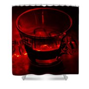 Cozy Evening Cup Of Coffee Shower Curtain by Jenny Rainbow