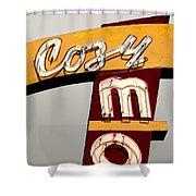 Cozy Mo - Gray Shower Curtain