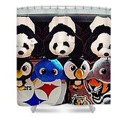 Cp Prizes Shower Curtain