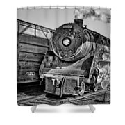 Cpr 2929 Bw Shower Curtain
