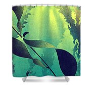 Crab Cathedral Shower Curtain