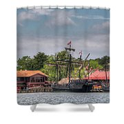 Crab Claw Discovery Shower Curtain