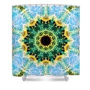 Crab Nebula I Shower Curtain