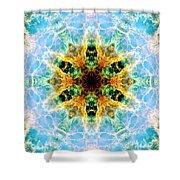 Crab Nebula IIi Shower Curtain