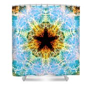 Crab Nebula Iv Shower Curtain