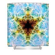 Crab Nebula Vi Shower Curtain