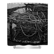 Crab Pot Shower Curtain