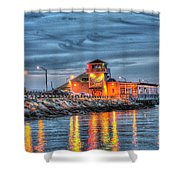 Crab Shack Seafood Restaurant Shower Curtain