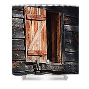 Cracker House Window Shower Curtain