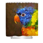 Crackers Shower Curtain