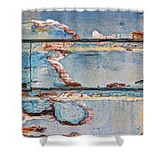 Cracking Up Shower Curtain