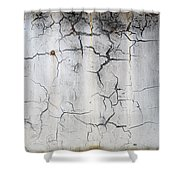 Crackle 1 Shower Curtain