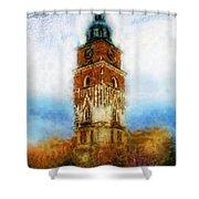 Cracov City Hall Shower Curtain