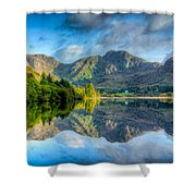 Craf Nant Lake Shower Curtain