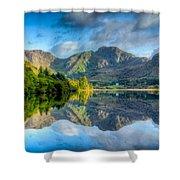 Craf Nant Lake Shower Curtain