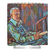 Craftsman Shower Curtain