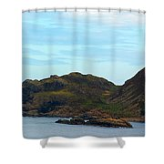 Craggy Coast 1 Shower Curtain