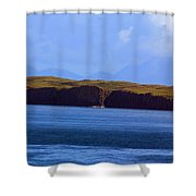 Craggy Coast 2 Shower Curtain