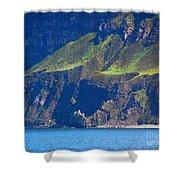Craggy Coast 7 Shower Curtain