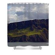 Craggy Coast 9 Shower Curtain