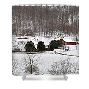 Craig County Farm Shower Curtain