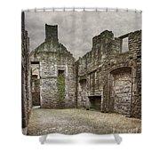 Craigmillar Castle Ruin Edinburgh Shower Curtain