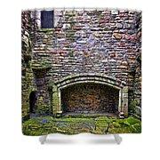 Craigsmillar Castle Kitchen Fireplace Shower Curtain