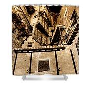 Crammed Floors In Albarracin Shower Curtain